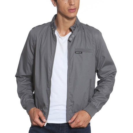 Iconic Racer Jacket // Gray (S)