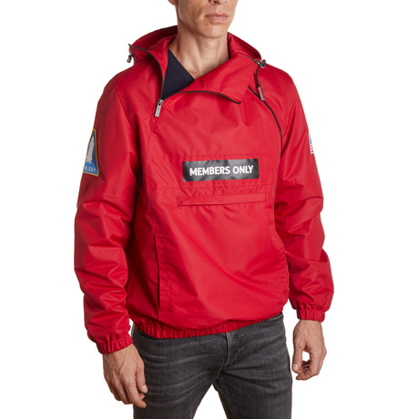 NASA Windbreaker Jacket // Red (S)