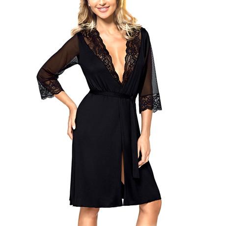 Dentelle Gown I // Black (2XL)