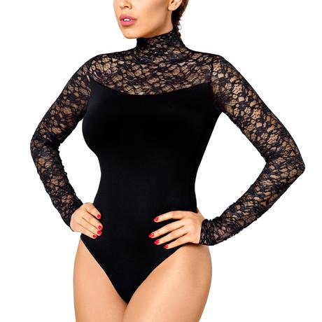 Roma Bodysuit // Black (2XL)