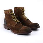Burnished Lace Up Boot // Tobacco (Euro: 43)