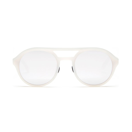 Westward Leaning Olympus Mons 02 // White + Silver