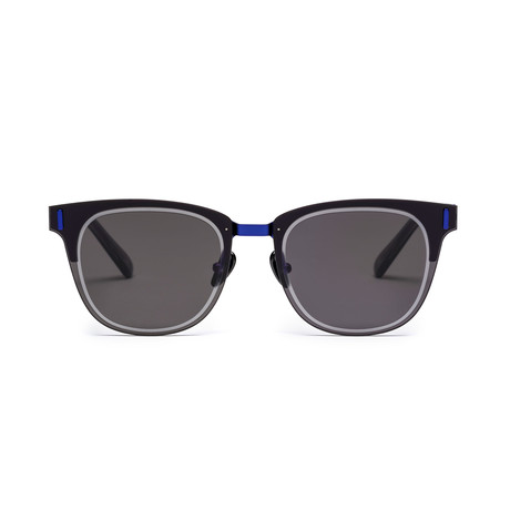 Westward Leaning Mirrorcake 05 // Slate + Blue