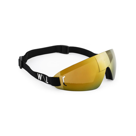 Men's FLY 02 Goggles // Gold