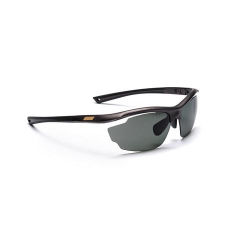 Men's VOLT 01 Polarized Sunglasses // Black