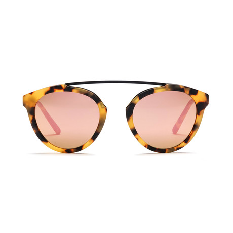 Westward Leaning Flower 13 // Sand Tortoise + Rose Gold