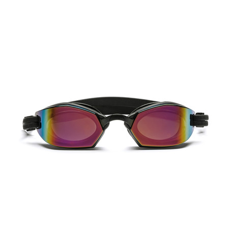Westward Leaning DIVE 01 // Swim Goggle // Black + Red Mirror