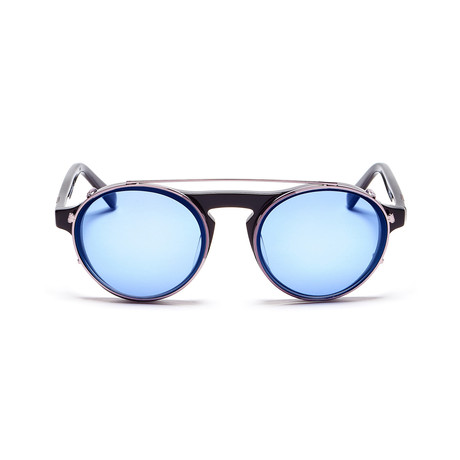 Westward Leaning Dyad 01 // Black + Blue