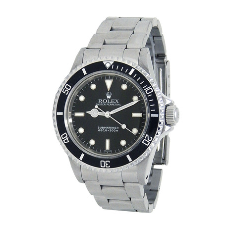 Rolex Submariner Automatic // 5513 // L Serial, Service Dial // Pre-Owned