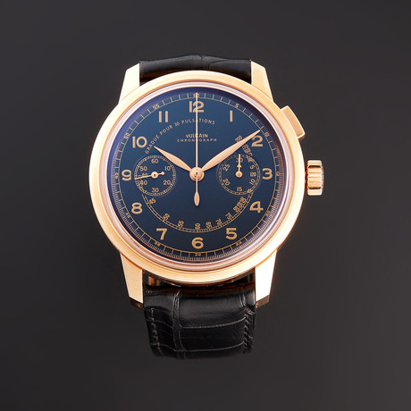 Vulcain 50s Presidents Chronograph Heritage Automatic // 570557.315L // New