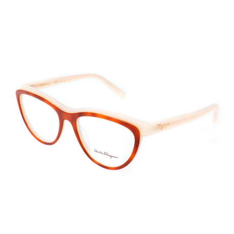 Women's Peggy Optical Frames // Blonde Havana + Ivory