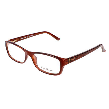 Unisex Kathryn Optical Frames // Crystal Brown