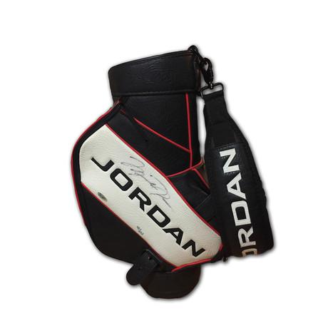 Michael Jordan // Signed Golf Bag // 48 Of 123