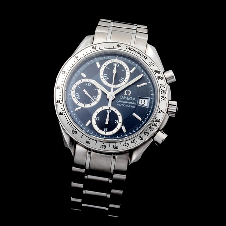 Omega Speedmaster Date Chronograph Automatic // 35139 // Pre-Owned