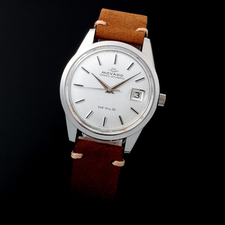 Movado Date Manual Wind // Pre-Owned