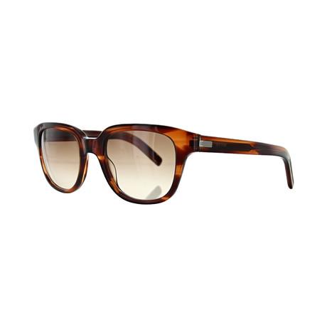 Men's Square Sunglasses // Brown Havana + Warm Brown