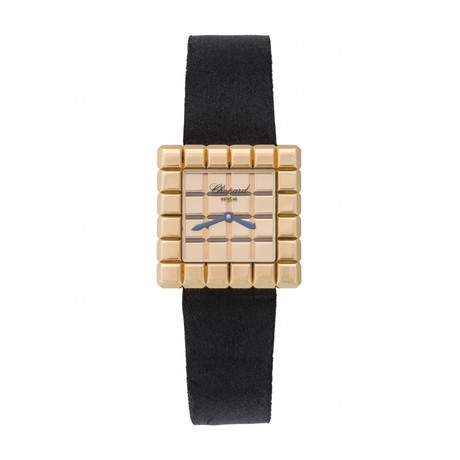 Chopard Lady's Ice Cube 18k Yellow Gold Quartz Watch // Pre-Owned