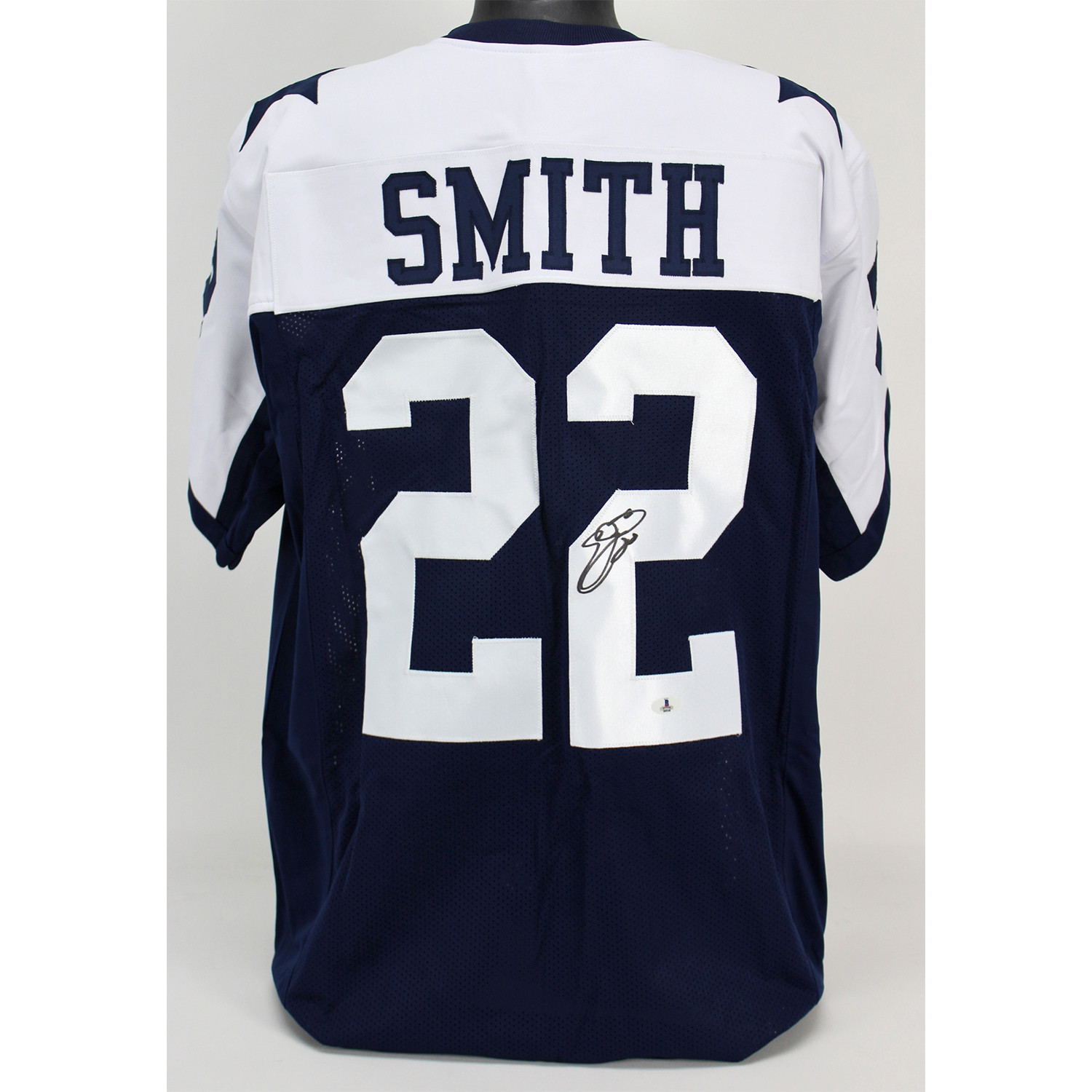 pretty nice fac97 205d0 Signed Thanksgiving Jersey // Cowboys // Emmitt Smith ...
