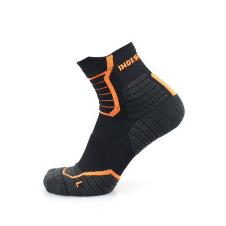 Indestructible Socks // Black // 2 Pack (9-12)