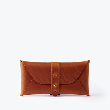 Multipurpose Envelope Case // Cognac