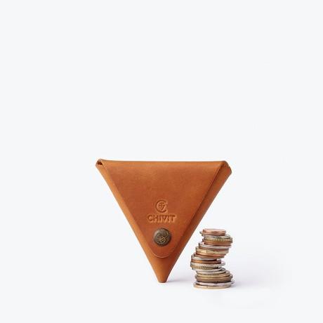 Triangle Case // Cognac