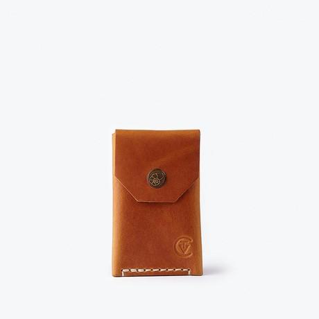 Micro Wallet // Cognac