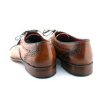 Marylebone Brogue // Tan + Brown Toe (US: 8.5)