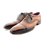 Marylebone Brogue // Tan + Brown Toe (US: 7)