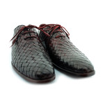 William Woven Whole Cut Oxford // Oxblood (US: 9)