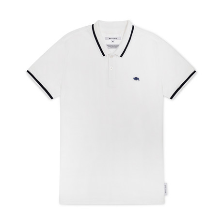 Pine Polo Shirt // White (S)