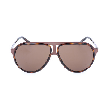 Men's 100S Sunglasses // Havana Brown