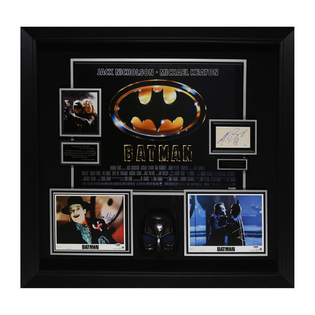 Batman // Autographed Display