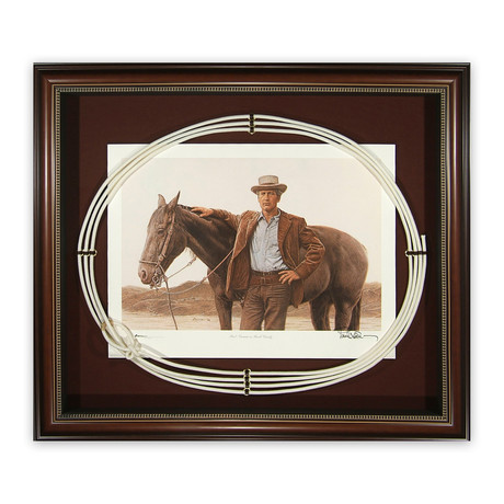 Paul Newman // Autographed Display