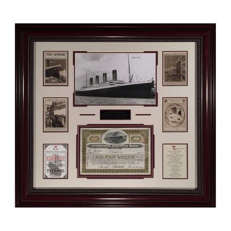 Titanic // Millvina Dean Stock Certificate
