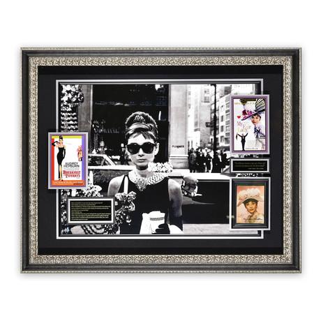 Audrey Hepburn // Autographed Display