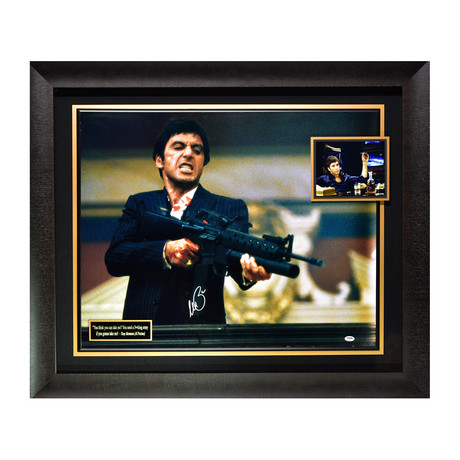 Scarface // Al Pacino // Signed