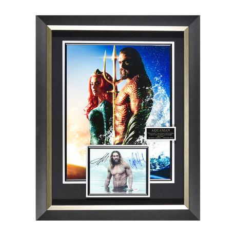 Aquaman // Autographed Display