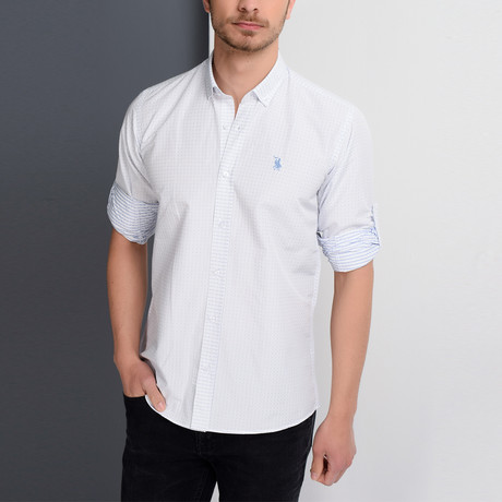 G657 Button-Down Shirt // White (S)