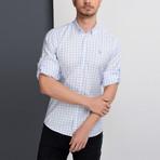 G653 Button-Down Shirt // Blue (3XL)