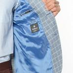 C7855 Blazer // Dark Blue Checkered (L)