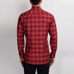 G659 Button-Down Shirt // Red (M)