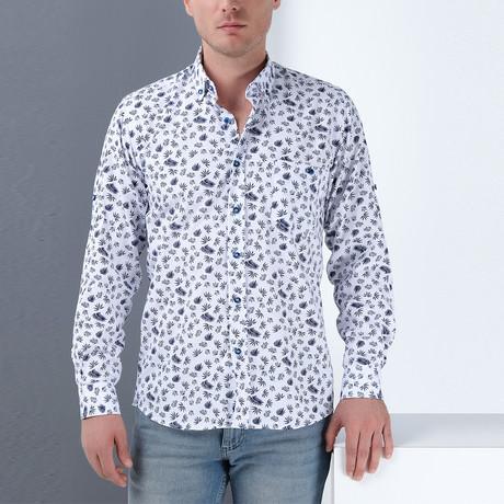 Blake Button-Up Shirt // White (Small)