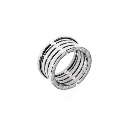 Bulgari B Zero 18k White Gold Band Ring // Ring Size: 9.25