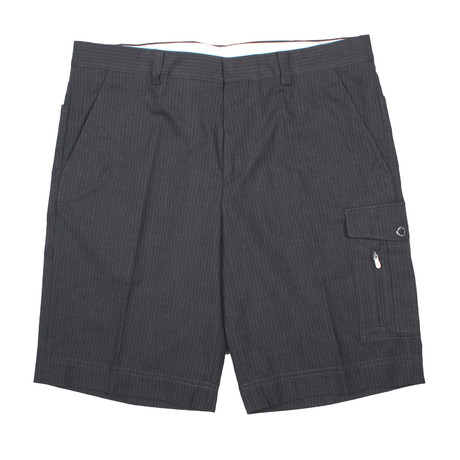 Formal Cargo Shorts // Gray (28WX32L)