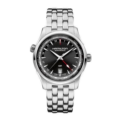 Hamilton Jazzmaster GMT Automatic // H32695131