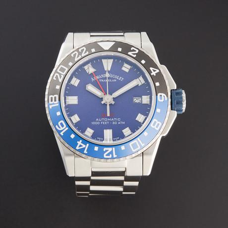 Armand Nicolet JS9 GMT Automatic // A486AGU-BU-MA4480AA