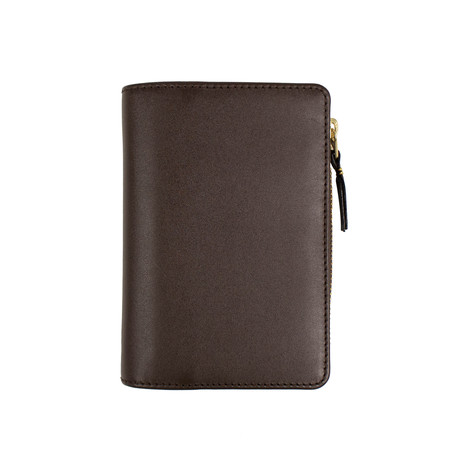 Leather Organizer Wallet // Brown