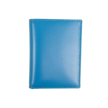 Leather Cardholder Wallet // Blue
