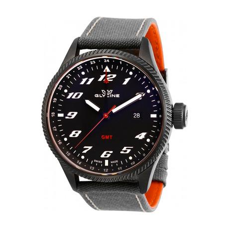 Glycine Airman GMT Quartz // GL1006