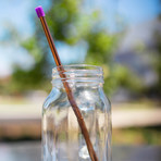 The Simple Straw // Set of 2 (Silver)